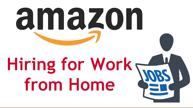 amazon is hiring for work from home
