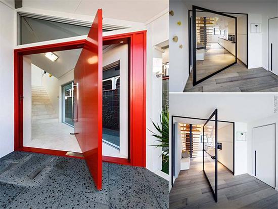 15 Desain Pintu Besar Minimalis