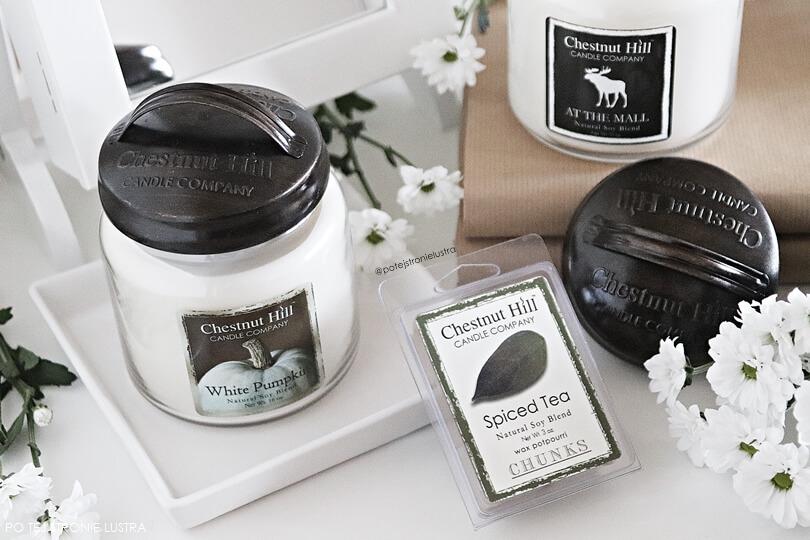 świece i wosk zapachowy chestnut hill candle
