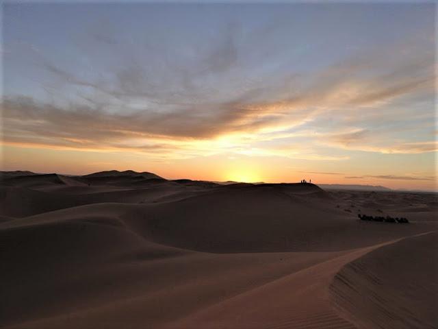 tramonto a merzouga