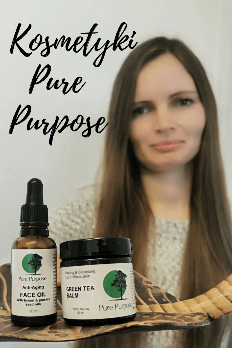 PURE PURPOSE - GREEN TEA BALM & ANTI-AGING FACE OIL