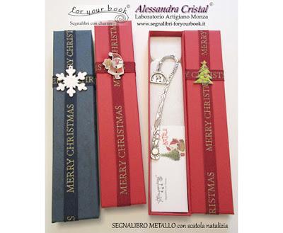 regalo di Natale segnalibro personalizzato