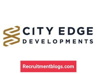 Fresh graduate Architecture paid Internship At City Edge Developments
