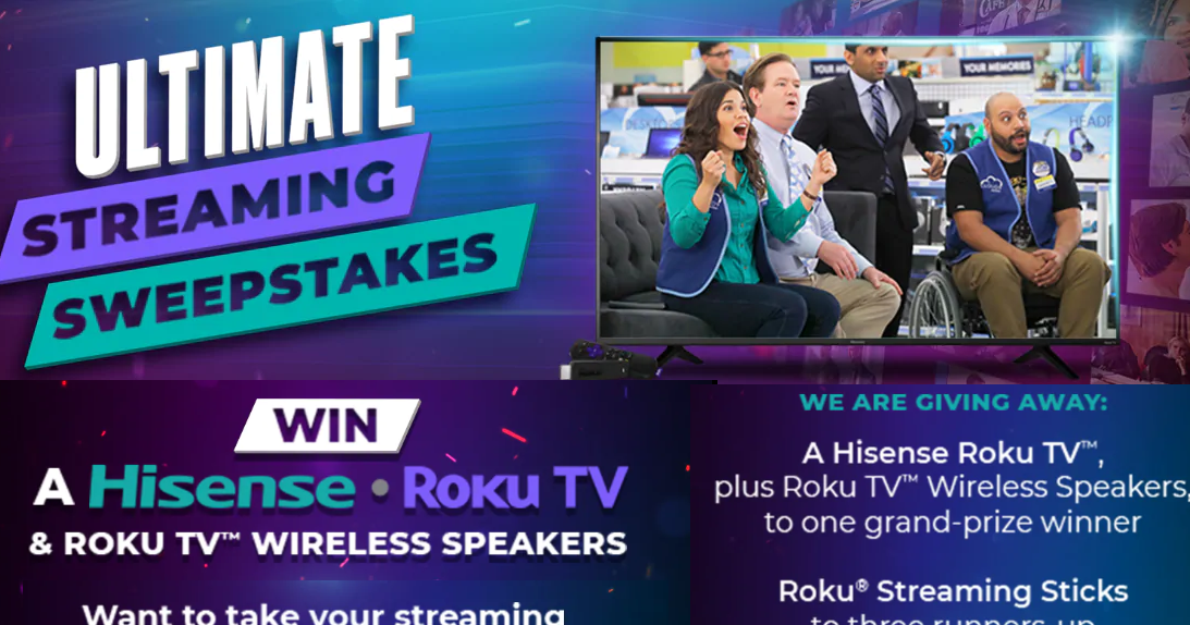 NBC Ultimate Streaming Giveaway - 4 Winners Win a Roku
