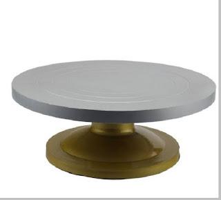 Meja putar untuk membuat patung - pustakapengetahuan.com