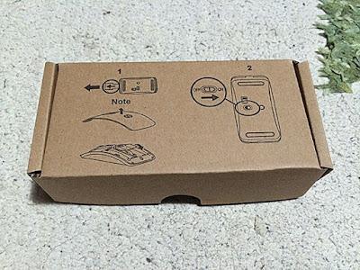 ワイヤレス光学マウス外箱