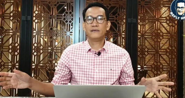 Refly Harun Mengebrak, Ajak Aktivis Rapatkan Barisan