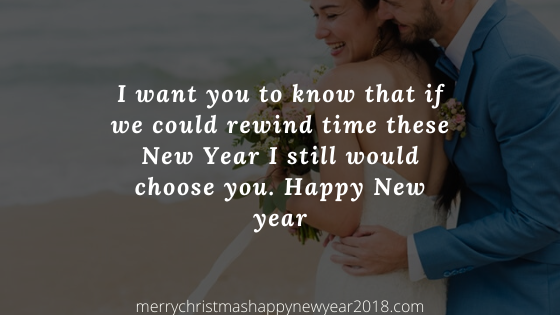 Happy New Year Messages for Wife Whatsapp