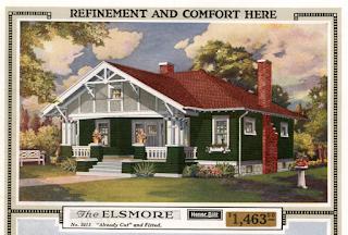 Sears Elsmore 1918 Sears Modern Homes Catalog