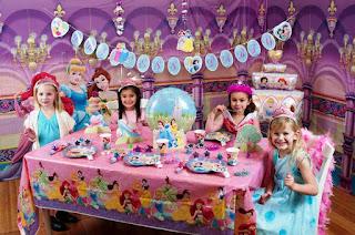 Dekorasi Ulang Tahun Anak Perempuan Tema Princess 4