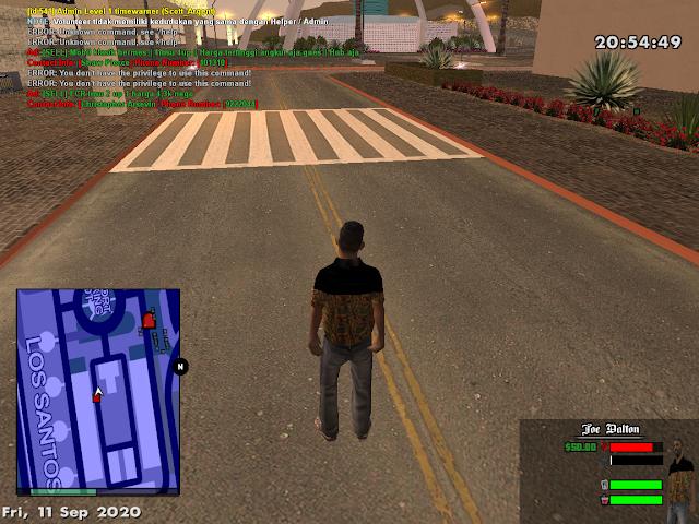 Cara Bermain GTA San Andreas Multiplayer Roleplay