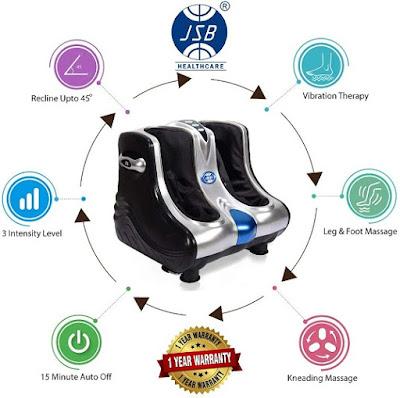 JSB HF05 Foot and Leg Massager Machine