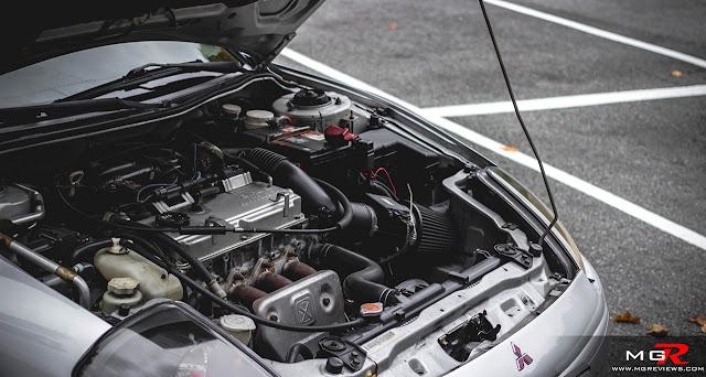 4G64 2.4, Mitsubishi Eclipse 3G, D50, silnik, R4