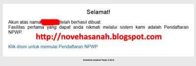 akun sudah aktif, lanjut dengan mendaftarkan NPWP ke DJP Online untuk menyampaikan SPT pajak tahunan setiap bulan maret anda yang anggota TNI POLRI atau PNS dan ASN