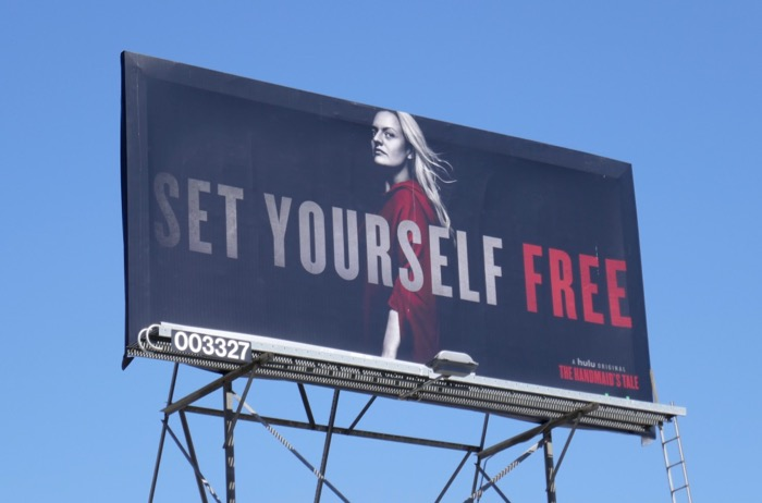 Set Yourself Free Handmaids Tale s3 billboard