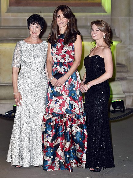 Catherine, Duchess of Cambridge attend the 100WHF 2015 (Women in Hedge Funds) Gala Dinner at the Victoria and Albert Museum for the benefit of The Art Room