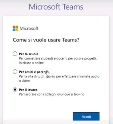 Teams per il lavoro