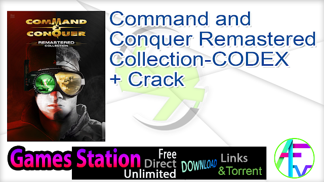 Command and Conquer Remastered Collection-CODEX + Crack