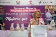 Encabeza la presidenta de Acapulco, Adela Román Ocampo, el primer Congreso Nacional de Mujeres que impulsan la Cuarta Transformación en México