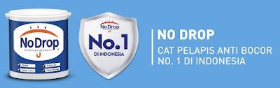Merk Cat Dinding No Drop