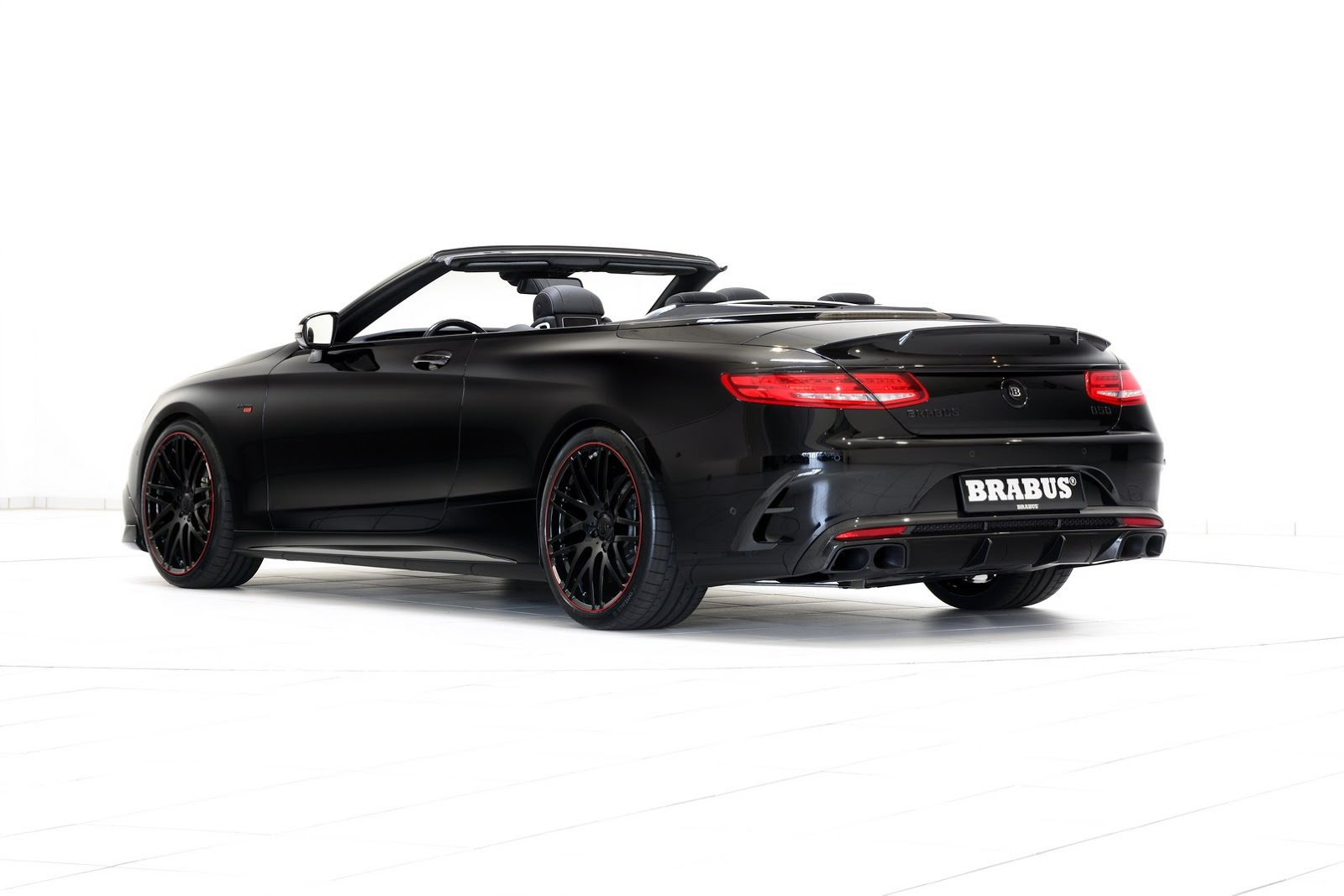 Brabus 850 6 0 biturbo mercedes amg s63 based convertible for Mercedes benz s63 amg biturbo