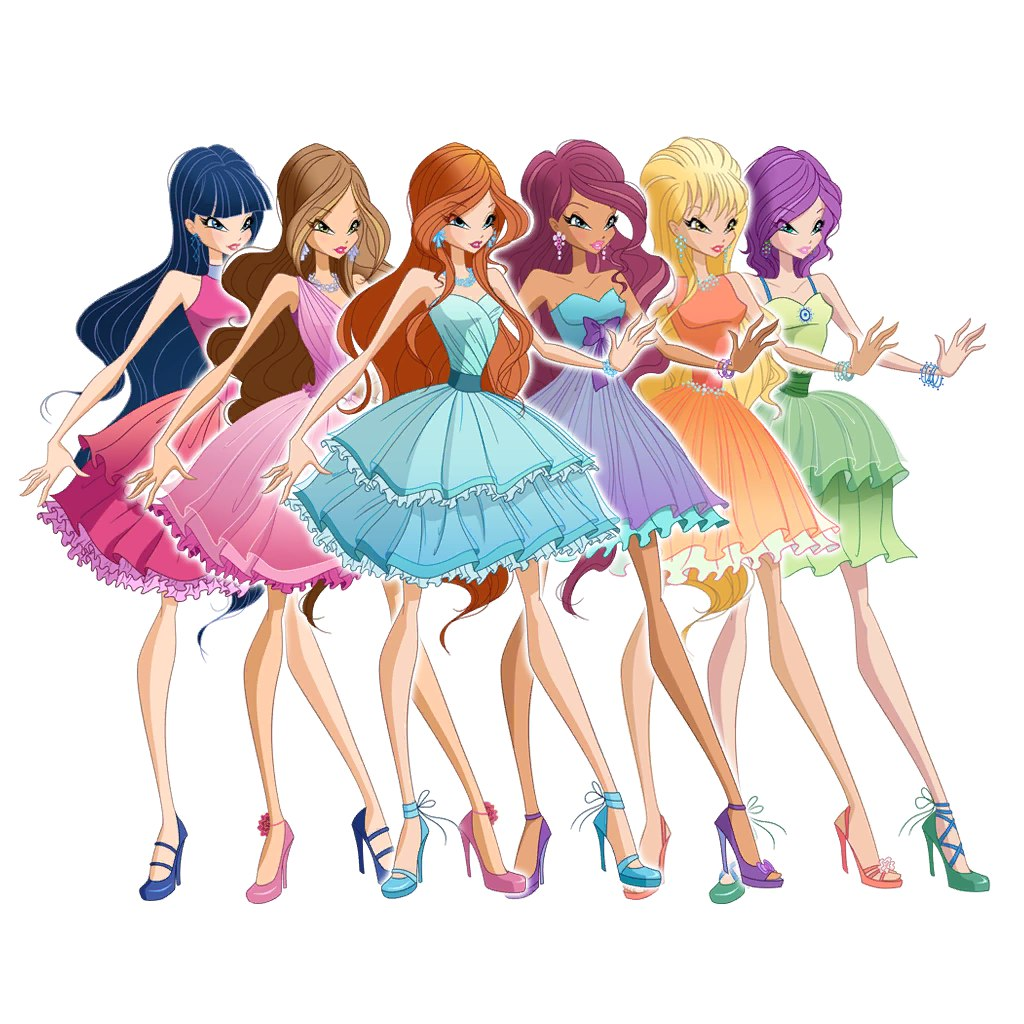 Winx Club Fashion Show Games