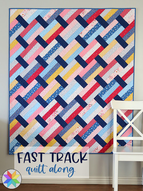 Fast Track quilt along with A Bright Corner