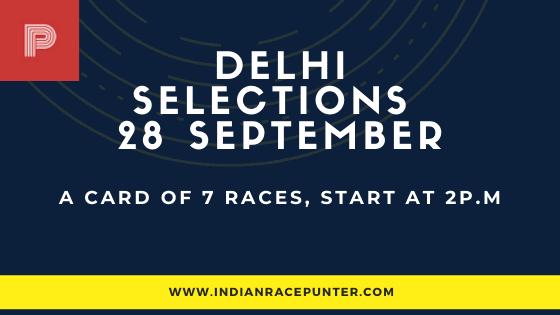 Delhi Race Selections 28 September