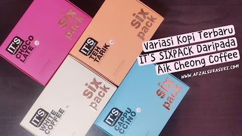 Variasi Kopi IT'S SIXPACK Terbaru Daripada Aik Cheong