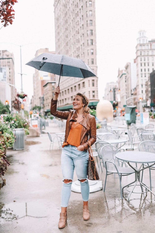 nyfw in the rain