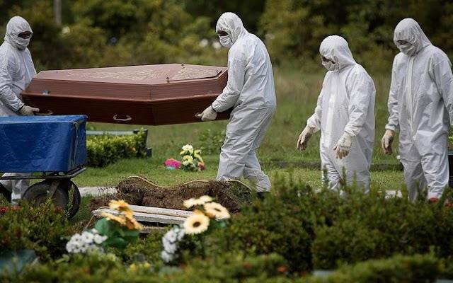 Brasil bate recorde com 2.286 mortes por Covid em 24 horas