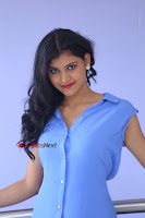 Telugu Actress Mounika UHD Stills in Blue Short Dress at Tik Tak Telugu Movie Audio Launch .COM 0065.JPG