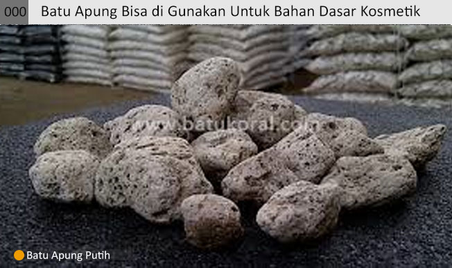 jual batu apung putih murah