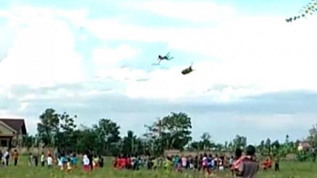 Viral Bocah di Pringsewu Terbawa Layang-layang Terbang Hingga Jatuh Dari Ketinggian Belasan Meter