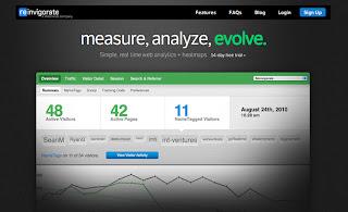 Analizar tu sitio web con Reinvigorate