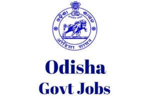 Govt of Odisha Jobs,latest govt jobs,govt jobs,Multi Purpose Health Worker jobs