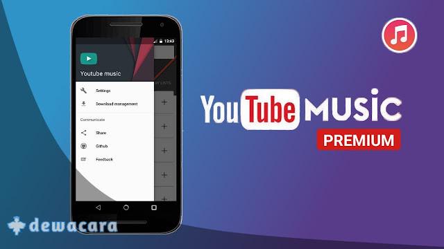 Aplikasi Youtube Music Premium Gratis