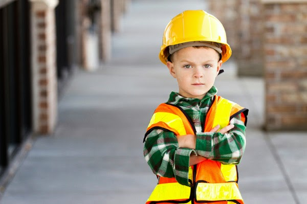 construction workers children