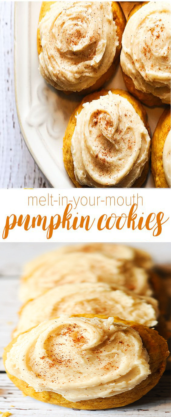 MELT-IN-YOUR-MOUTH PUMPKIN COOKIES RECIPE