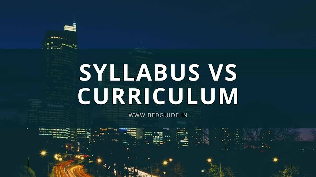 The Differences between Syllabus and Curriculum PPT
