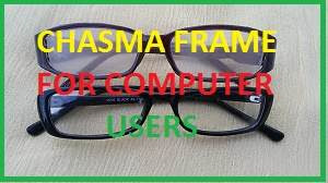 Chasma Frame For Computer Users