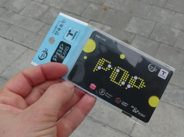 Seoul - Ticket für die U-Bahn