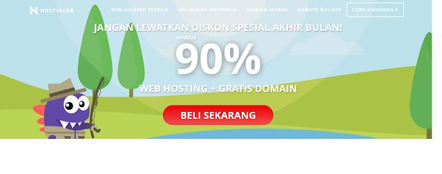 Hosting Murah Terpercaya Dan Terbaik Untuk Para Blogger Indonesia Plus Gratis Domain
