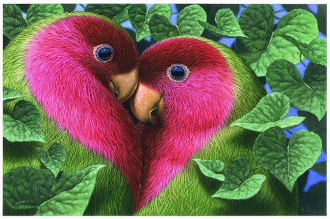 Wallpapers Love Birds: Sweet Love Birds Wallpapers