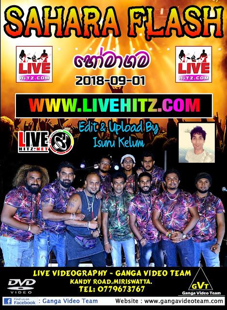 SAHARA FLASH LIVE IN HOMAGAMA 2018-09-01