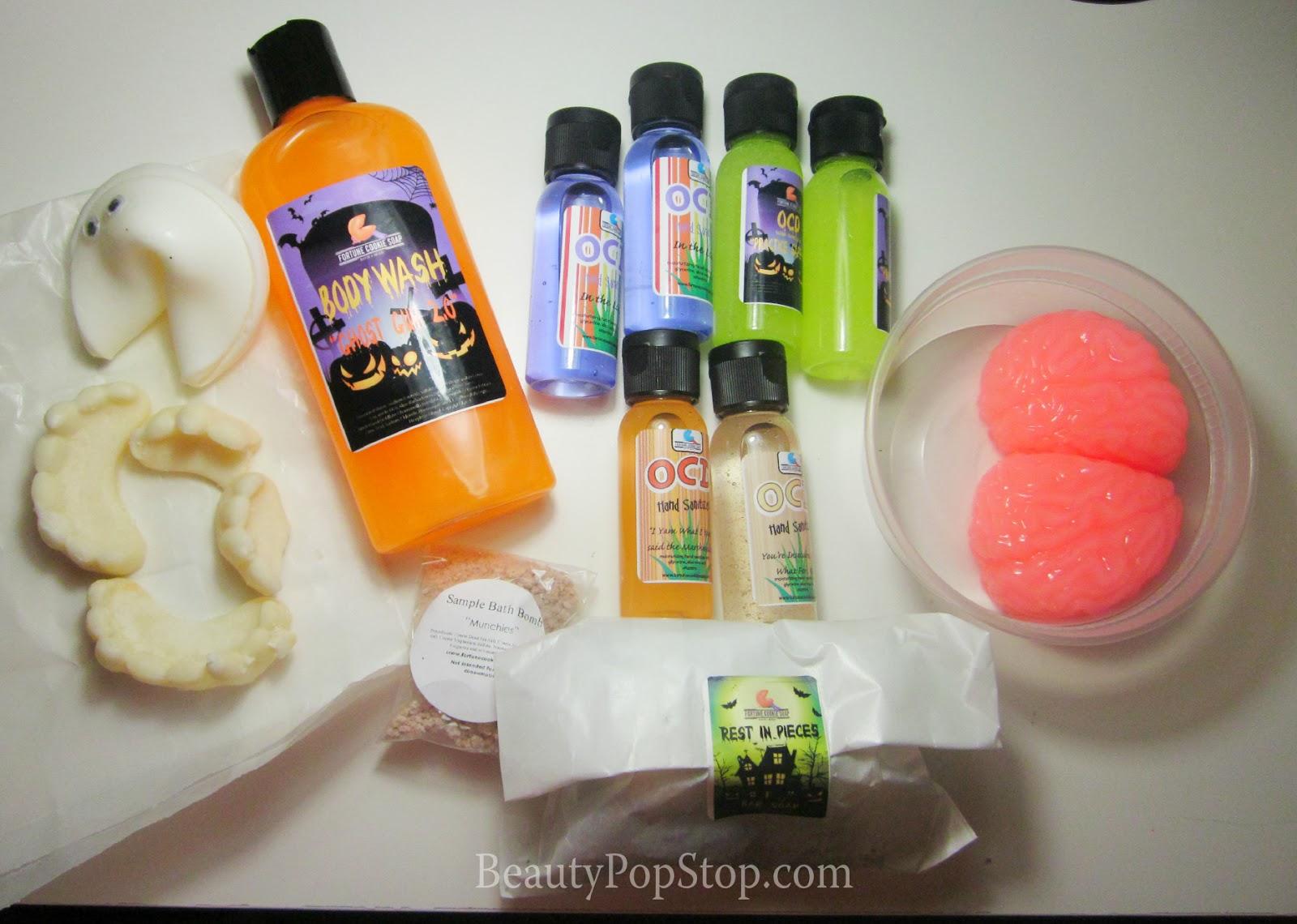 fortune cookie soap halloween haul