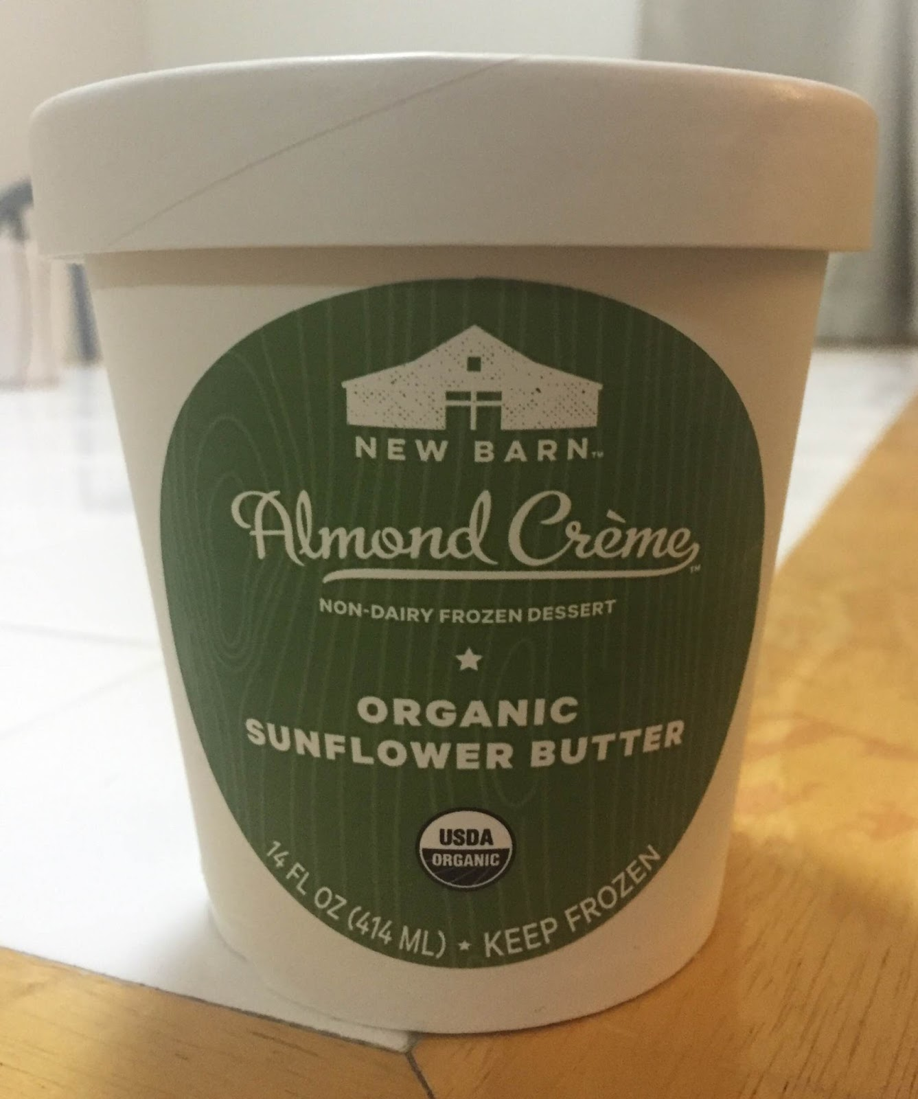 The New Barn Almond Creme Sunflower Butter