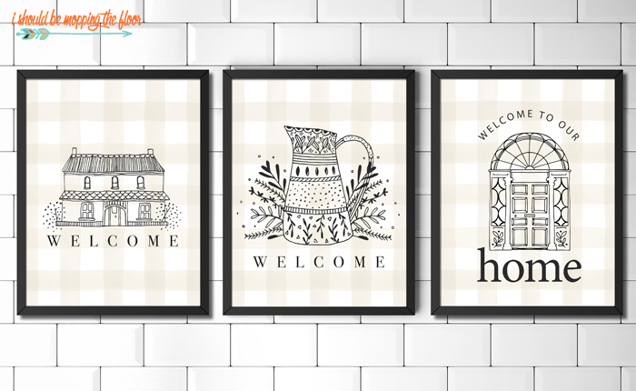Free Welcome Printable