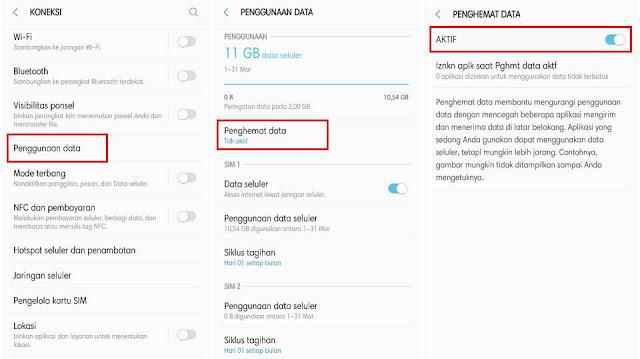 Cara Mematikan Koneksi Internet Aplikasi Tertentu di Samsung