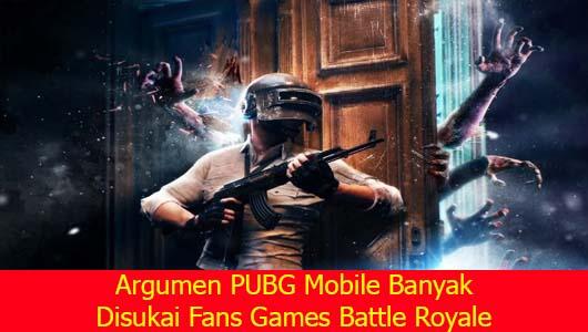Argumen PUBG Mobile Banyak Disukai Fans Games Battle Royale